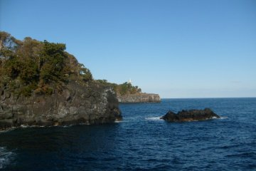 <p>The rugged scenery of the Jogasaki coast</p>