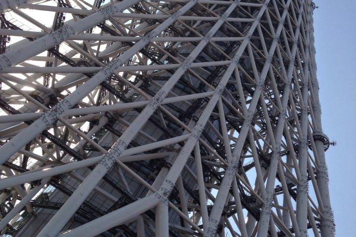 634m of Tokyo Skytree