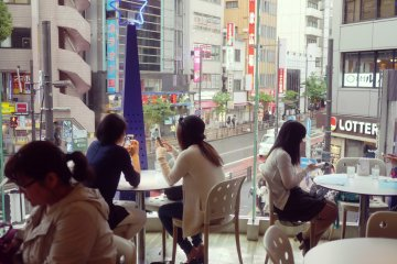 <p>A beautiful view of Ikebukuro</p>