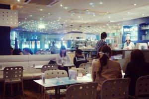 The Milky Way Cafe shop in Tokyo's Ikebukuro