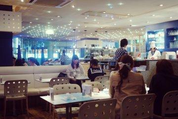 <p>The Milky Way Cafe shop in Tokyo&#39;s Ikebukuro</p>