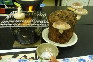 PIck and grill your own mushrooms -- super fun.  You can take the mushroom stump home if you live in Japan.