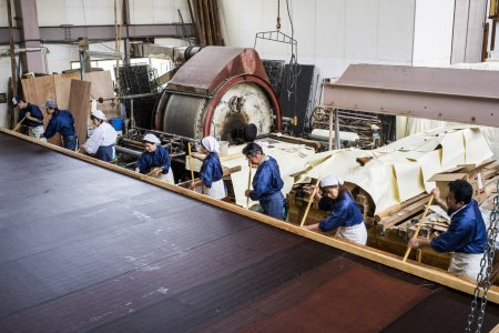Giấy washi lớn nhất thế giới