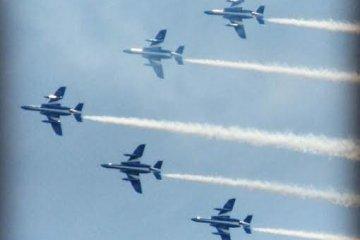 Air Show at Rokkon Festival 2014