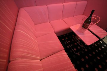 <p>VIP room (seats up to 8) complete with bottle of champagne!</p>