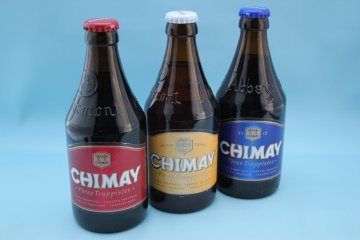 <p>Nothing like some chimay to take the edge off it!</p>