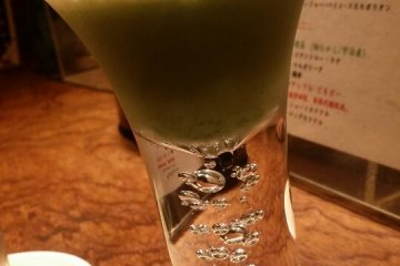 <p>Matcha Latte Cocktail</p>