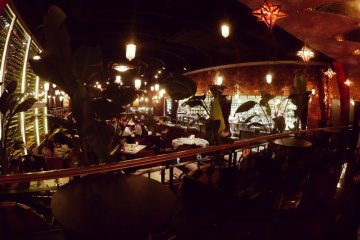 <p>The dining area at Legato&#39;s Shibuya.</p>