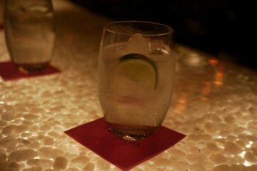 <p>Shiso Gin Tonic</p>