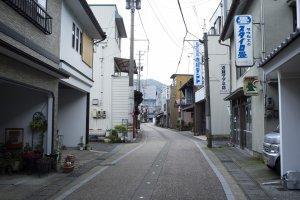 Along Echizen city's tansu road