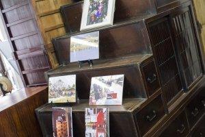An antique stair/storage tansu beloinging to Mr Yoshio