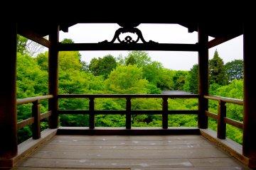 Vale Verde no Templo Tofuku-ji