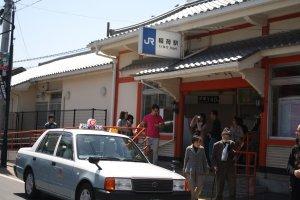 ถึงแล้วสถานีรถไฟ Inari