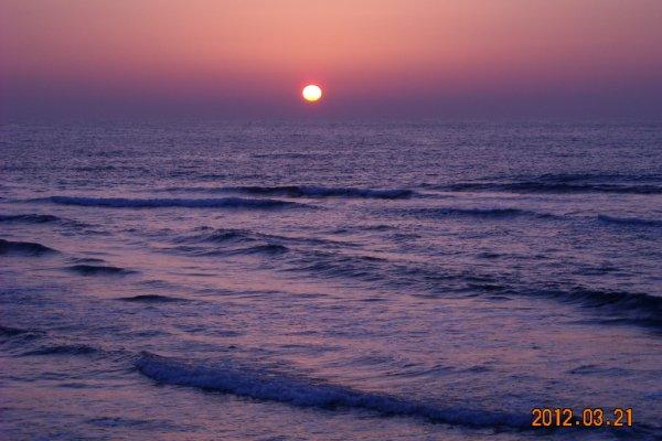 Sunset at Taki beach
