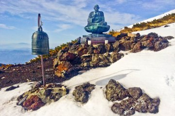 <p>An &#39;Ontake-Kyo&#39; monument, part of Mount Ontake&#39;s own special religion</p>