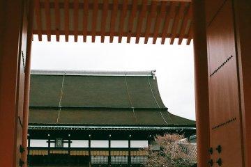 O Palácio Imperial De Quioto