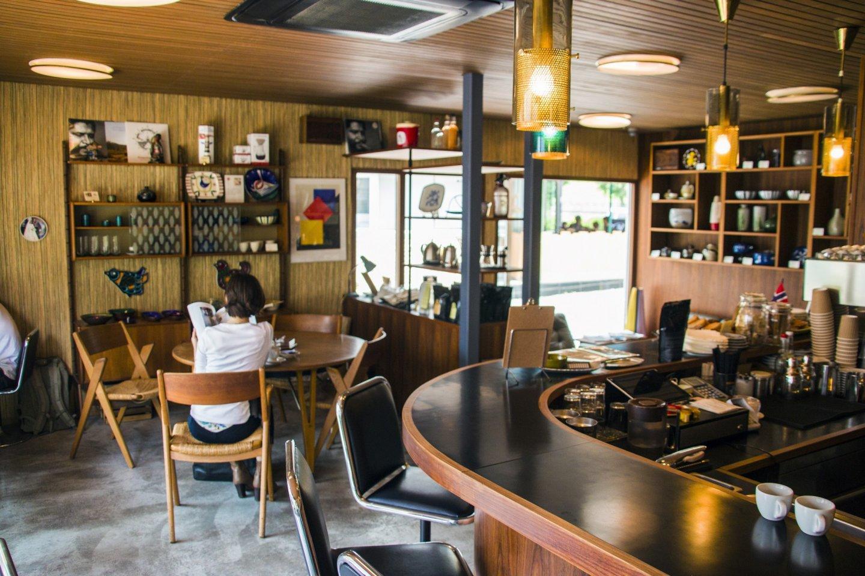 The Fuglen Tokyo branch cafe