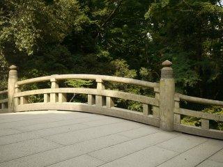 Un pont près de la sortie Harajuku