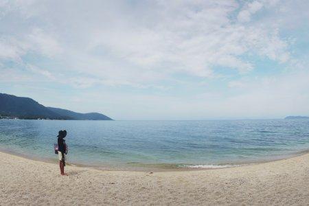 Bãi Biển Omimaiko Ở Hồ Biwa