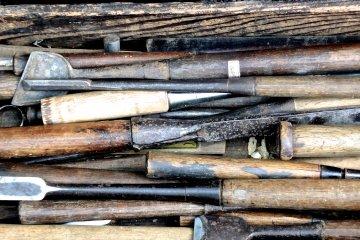 오래된 판매 도구