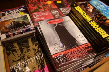 <p>Comics section</p>