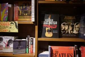 A large and comprehensive music book section