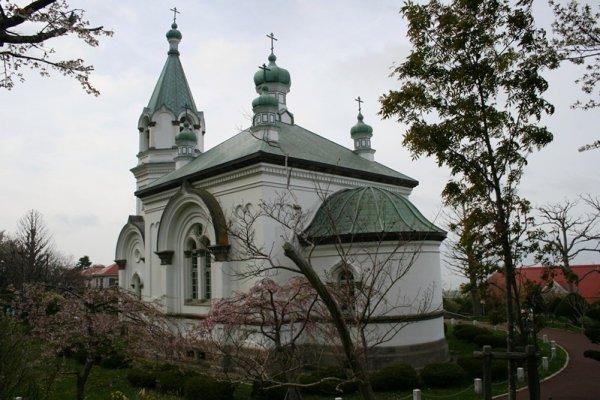 โบสถ์รัสเซีย นิกายออโธดอกซ์ เล็ก ๆ แห่งเมือง Hakodate