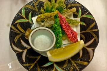 <p>A local variation of Tempura</p>