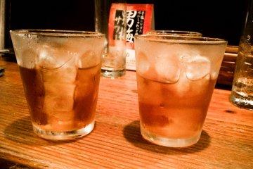 <p>Специальные коктейли в баре Бо</p>
