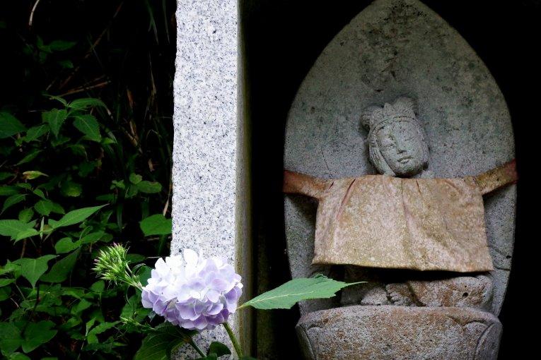Статуи в храме Дайандзэндзи
