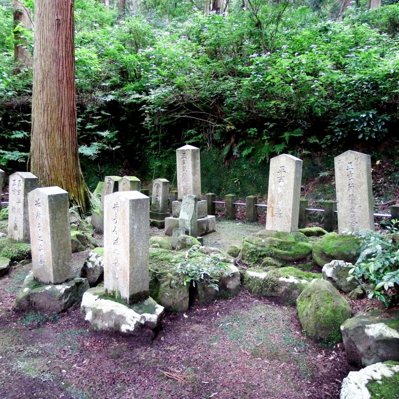 <p>I&#39;m not sure whose tombs they are (they are near the poet&#39;s grave), but I kind of envy them for having such serene place to themselves in the woods to rest in peace</p>
