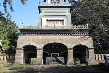 金沢「尾山神社」