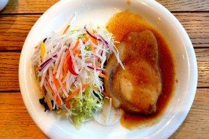 Gừng thịt heo là món ăn phong cách ẩm thực lành mạnh.