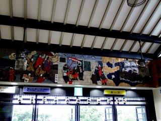 大阪城公園駅に到着!