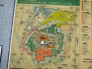 Dari Stasiun JR Osakajo (Kastil Osaka) ke Gerbang Aoyamon dibutuhkan sekitar 15 menit berjalan kaki. Perjalanan masih panjang!