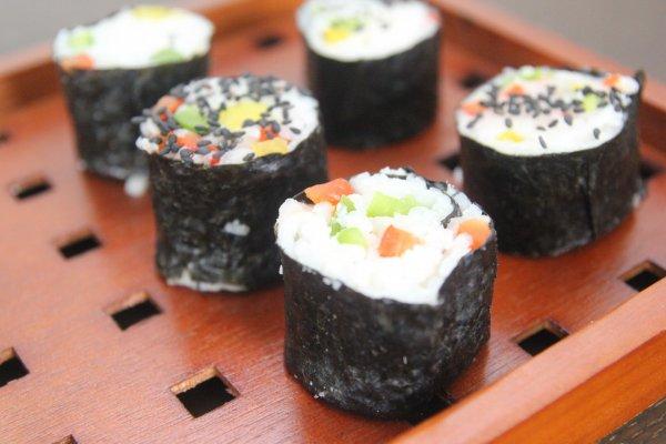 Sushi végétarien