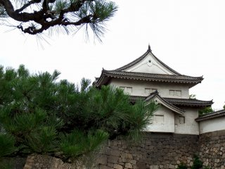 The Sengan-yagura Turret, an important cultural property of Japan