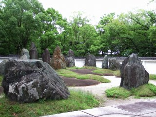 View of Hideyoshi's Stone Garden
