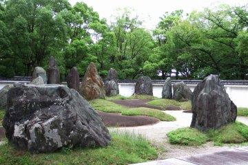 히데요시의 돌 정원 풍경