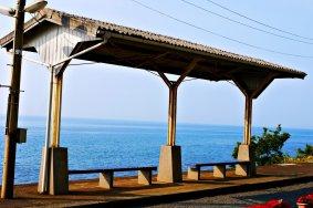 【熱血背包女】一個人的四國浪漫之旅~鐵道迷必來!最美的無人車站:下灘