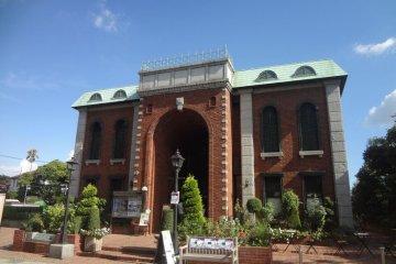 The Iwasaki Museum in Yokohama's Yamate district