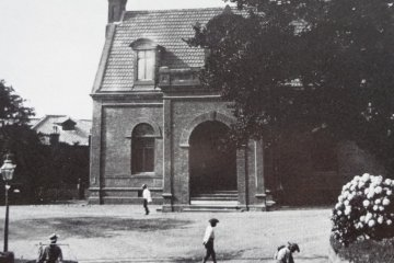 A new theater was built at Yamate 256 in 1885