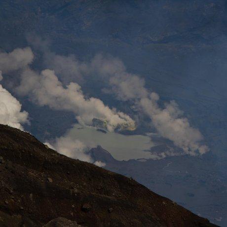 Các hoạt đông xung quanh núi lửa Aso
