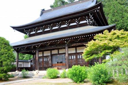 다카야마의 역사적인 '템플 타운'