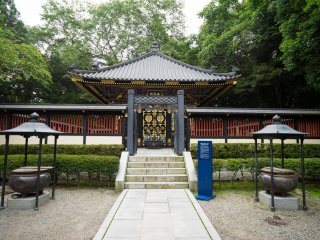The Zuihoden, mausoleum of Date Masamune