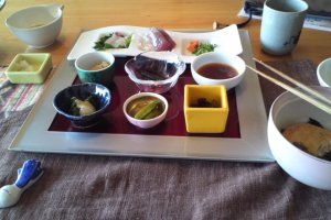 My full course lunch for 1500 yen