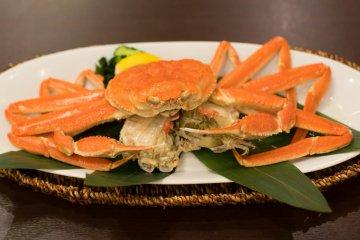 Main dish of the Kaiseki meal