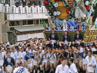 上川端, 第 8隊, 準備入彎!