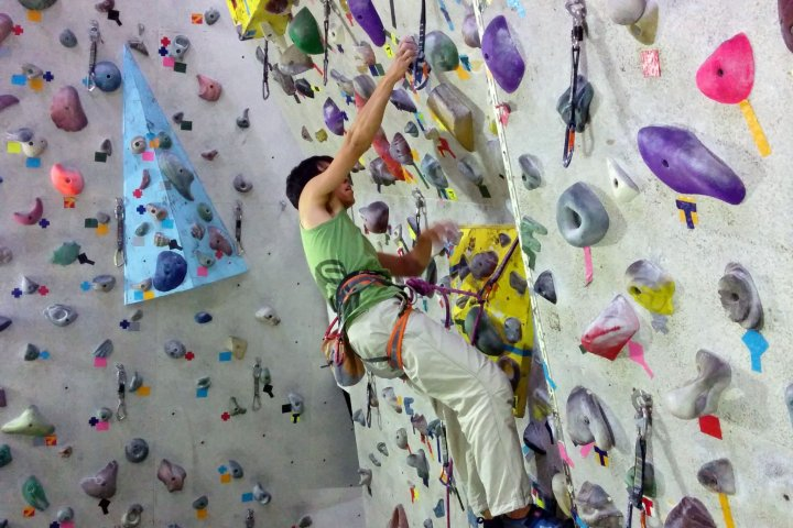 Indoor Rockclimbing in Sendai