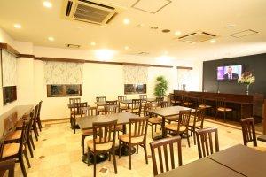 Hokuokanrestaurant area